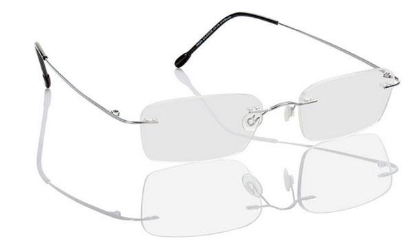 Gleitsichtbrille Spiegelung